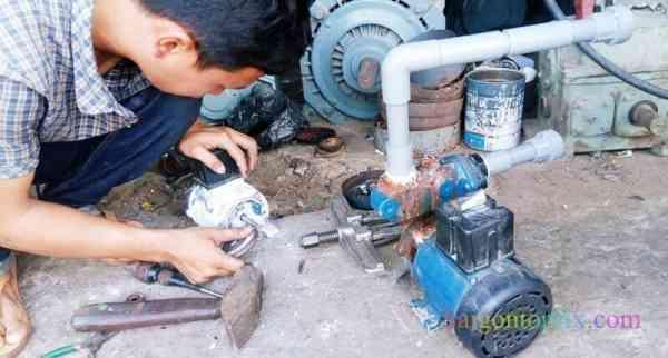 thợ sửa máy bơm nước tại quận 3