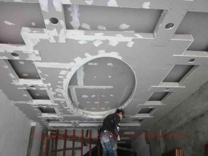 thợ đóng trần vách ngăn thạch cao tại quận 1