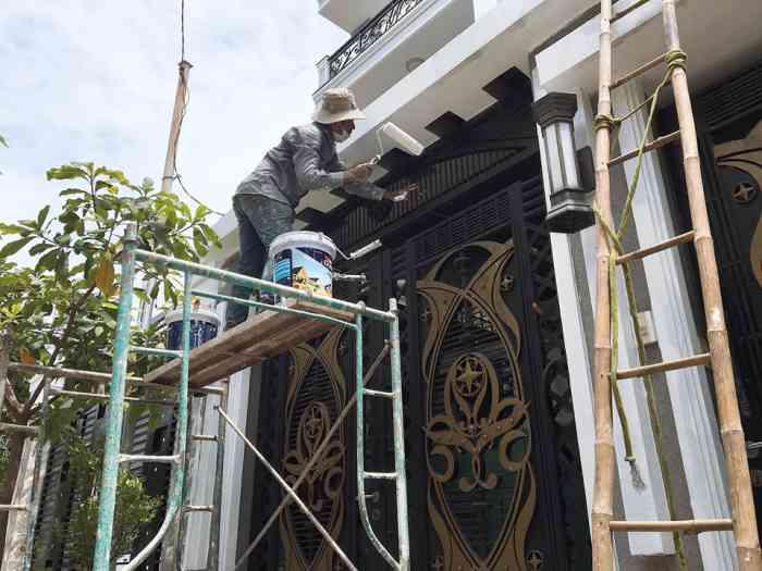 thợ sơn nhà giá rẻ tại quận 6