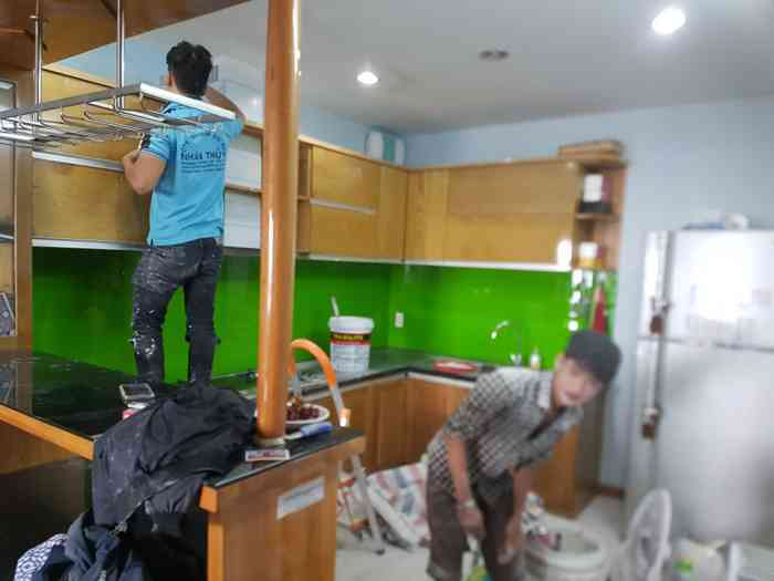 sơn sửa nhà chung cư tphcm