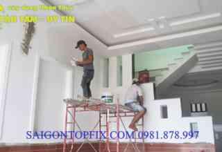 sơn tường nhà tại tphcm