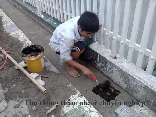 thợ chống thấm nhà ở tại quận 4