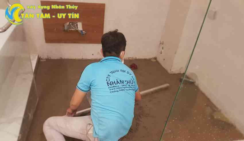 thợ chống thấm nhà ở tại tphcm