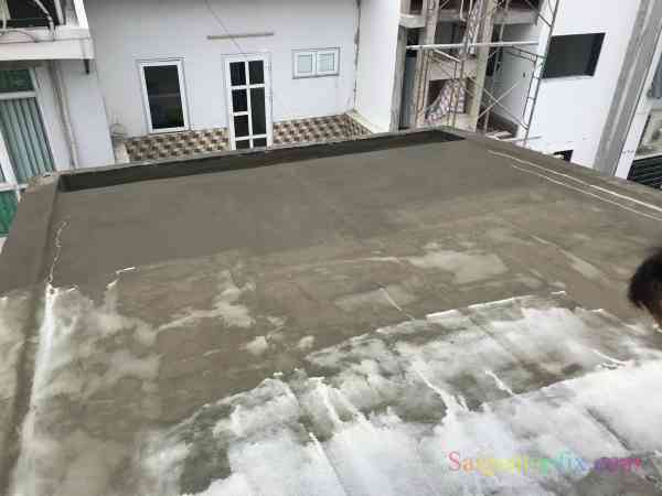chống thấm trần nhà