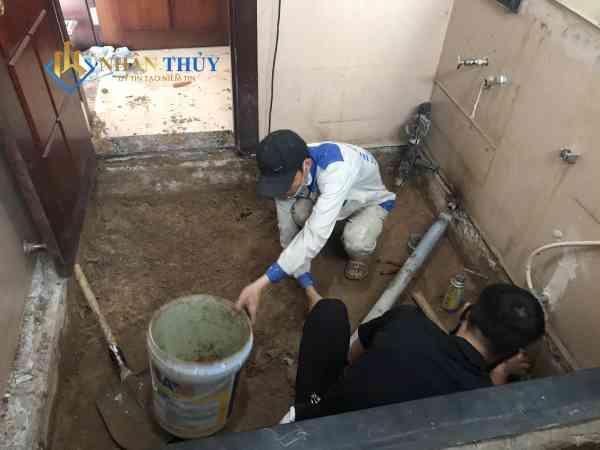 thợ sơn nhà vệ sinh tại quận 7