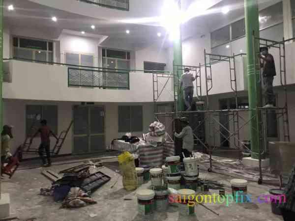dịch vụ sơn nhà tại bình chánh