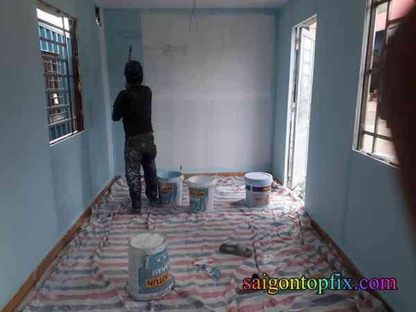sơn nhà đẹp giá rẻ tại bình tân