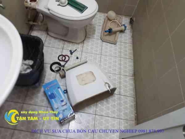 sửa bồn cầu toilet quận 11