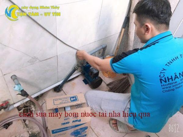 sửa chữa máy bơm nước quận bình thạnh