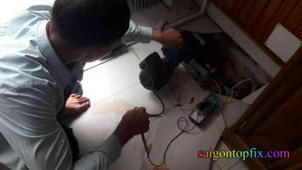 sửa máy bơm nước tại quận 11