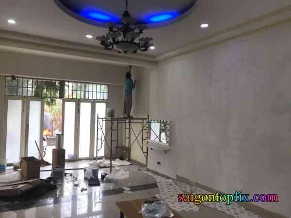 thợ sơn nhà tại huyện nhà bè