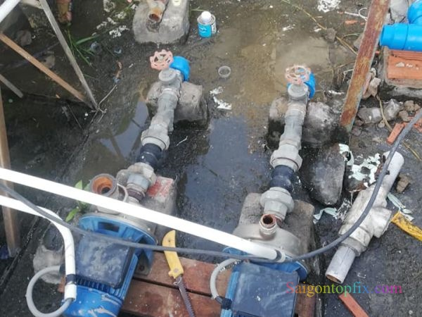 sửa máy bơm nước tại quận 8
