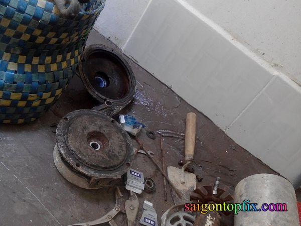 thợ sửa máy bơm nước quận 9